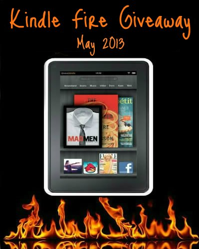 May Kindle Giveaway
