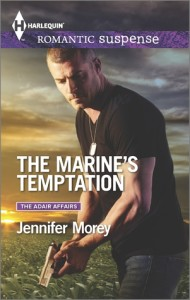 #Giveaway Excerpt THE MARINE'S TEMPTATION by  JENNIFER MOREY @RomanceWriter @HarlequinBooks