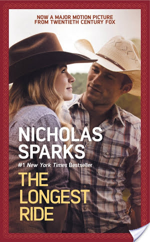 #Giveaway THE LONGEST RIDE by NICHOLAS SPARKS #LongestRide @NicholasSparks @TheLongestRide
