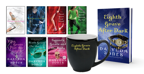 darynda jones prize pack