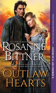 #Giveaway Rosanne Bittner's OUTLAW HEARTS Q&A with Miranda and Jake @SourcebooksCasa