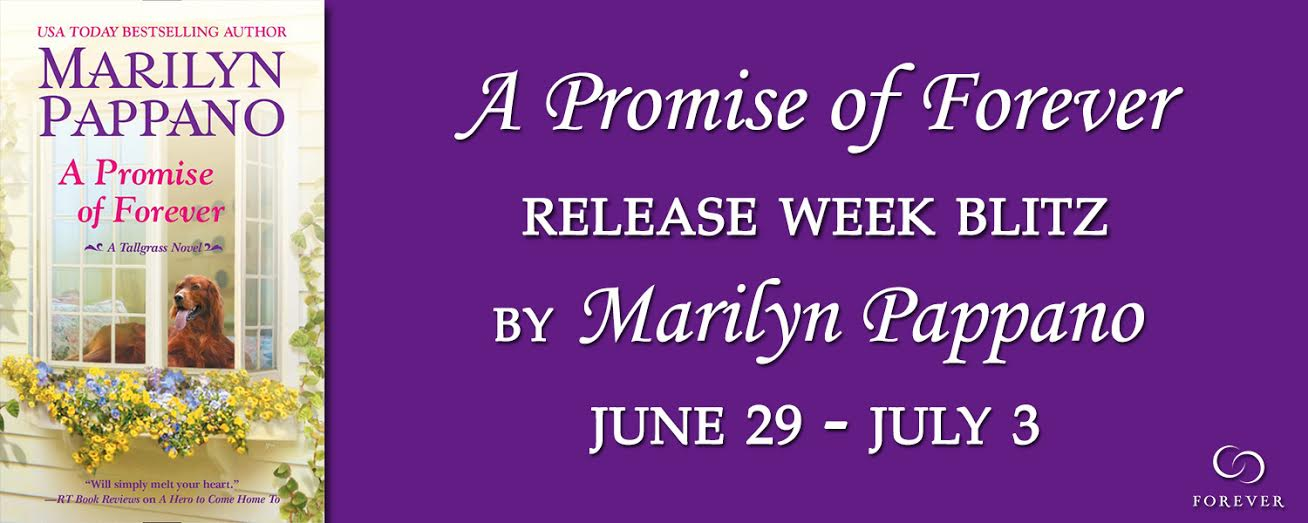 #Giveaway Interview A PROMISE of FOREVER by MARILYN PAPPANO @MarilynPappano @ForeverRomance