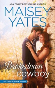 #Giveaway Review BROKEDOWN COWBOY by MAISEY YATES @MaiseyYates @HQNBooks