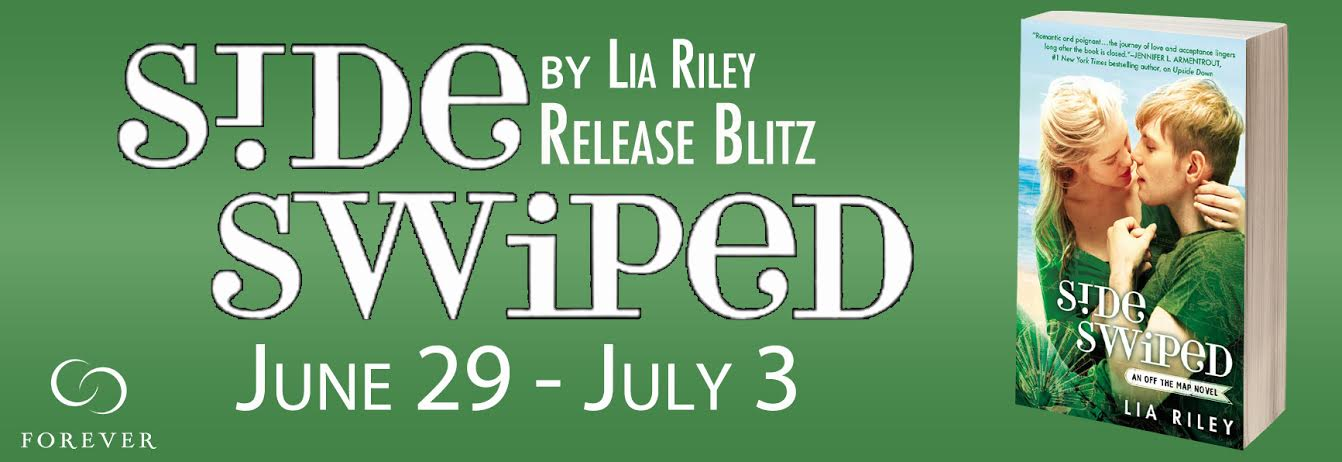 #Giveaway Except SIDESWIPED by LIA RILEY @LiaRileyWrites @ForeverRomance