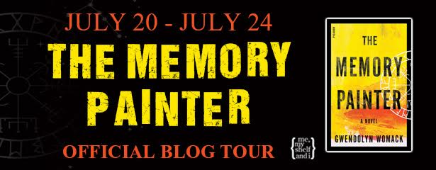 #Giveaway Review THE MEMORY PAINTER by Gwendolyn Womack @Gwen_Womack @PicadorUSA