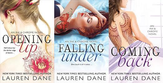 lauren dane books banner