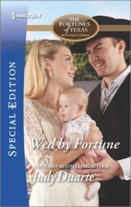 #Giveaway Excerpt Wed by Fortune by Judy Duarte @JudyDuarte @HarlequinBooks 6.10