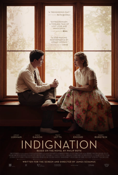 Indignation -Poster