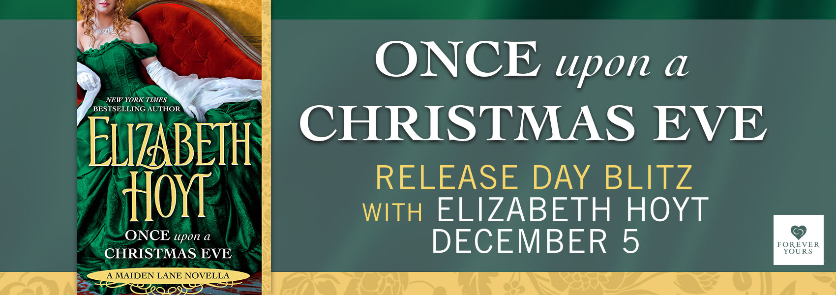 Win ONCE UPON A CHRISTMAS EVE by Elizabeth Hoyt!