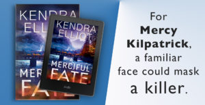 $25 Amazon Gift Card and Digital Copy of Kendra Elliot's A MERCIFUL FATE