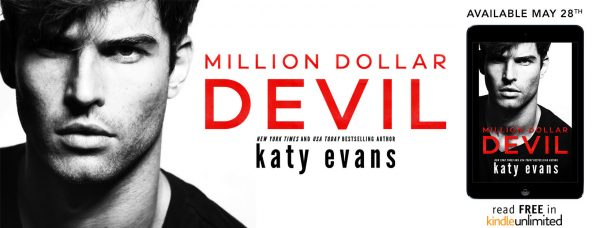 $25 Amazon Gift Card and Digital Copy of Katy Evans' MILLION DOLLAR DEVIL