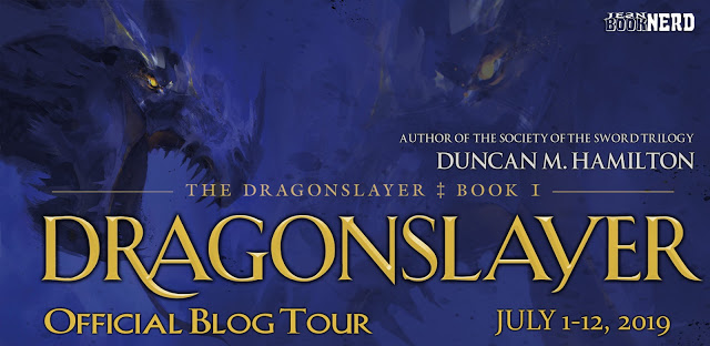 6 Winners will receive a Copy of DRAGONSLAYER by Duncan M. Hamilton.