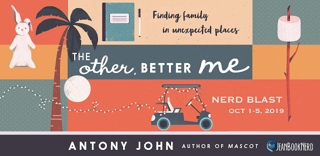 5 Winners will receive a Copy of THE OTHER, BETTER ME by Antony John - Winner will receive a $25 Dollar Amazon Gift Card.
