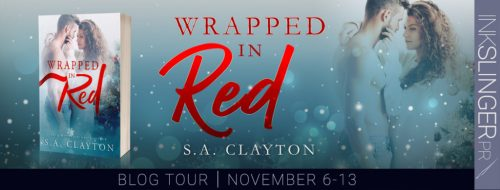 Signed copy of Wrapped in Red