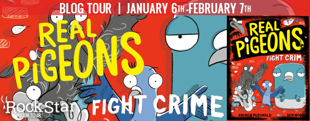 3 winners will win a finished copy of REAL PIGEONS FIGHT CRIME, US Only.