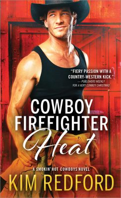 5 Copies of Cowboy Firefighter Christmas Kiss