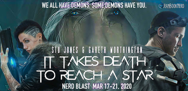 1 - IT TAKES DEATH TO REACH A STAR by Stu Jones and Gareth Worthington Storytellers BOX. - 1- $25 Amazon Gift Card