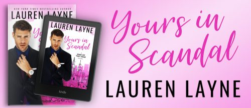 $25 Amazon Gift Card Giveaway & Digital Copy of Lauren Layne's YOURS IN SCANDAL