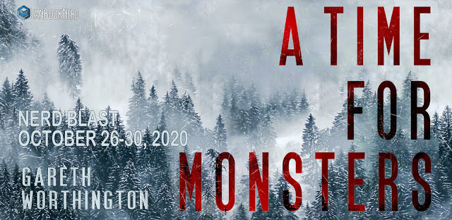(1) A TIME FOR MONSTER by Gareth Worthington. - (1) $25 Amazon Gift Card.
