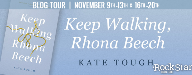 KEEP WALKING, RHONA BEECH & a $15 Amazon GC, International.