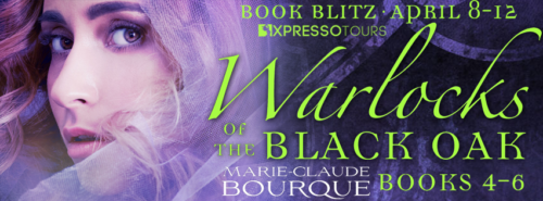$25 Amazon Card + a copy of Warlocks of the Black Oak: Books 1-3 (value: $6.99)
