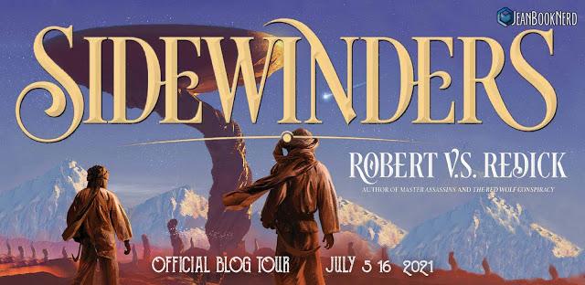 (3) SIDEWINDERS by Robert V.S. Redick.