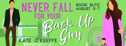 3x ebook copies of Never Fall for Your Back-Up Guy $20 Amazon gift card