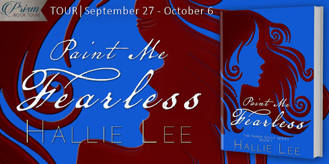 Two audiobooks of Paint Me Fearless by Hallie Lee (US) Two audiobooks of Paint Me Fearless by Hallie Lee (UK)